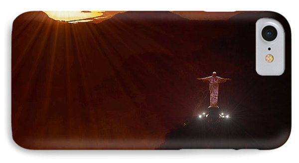 Christ The Redeemer Phone Case by Michael Rucker