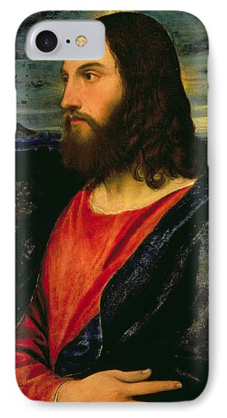 Christ The Redeemer IPhone Case by Titian