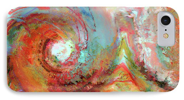 Christian Art- The Beginning. Genesis 1 1 IPhone Case by Mark Lawrence