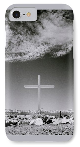 Christian Grave IPhone Case by Shaun Higson