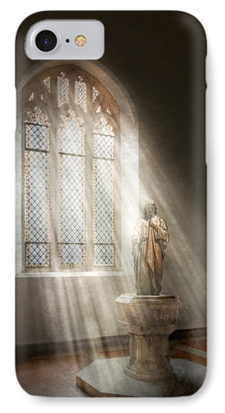 Christian - Heavenly Father Phone Case by Mike Savad