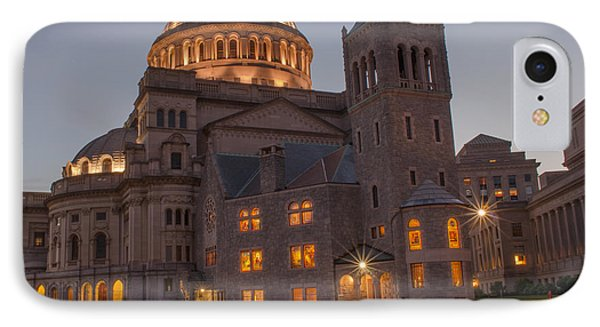 IPhone Case featuring the photograph Christian Science Center 2 by Mike Ste Marie