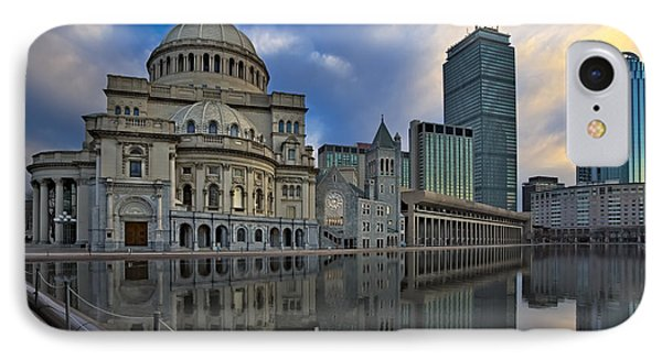 Christian Science Center Boston IPhone Case by Susan Candelario
