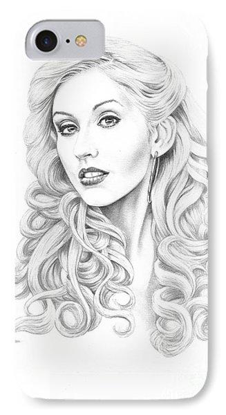 Christina Aguilera Phone Case by Murphy Elliott