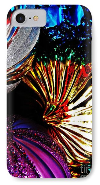 Christmas  Abstract 22 Phone Case by Sarah Loft