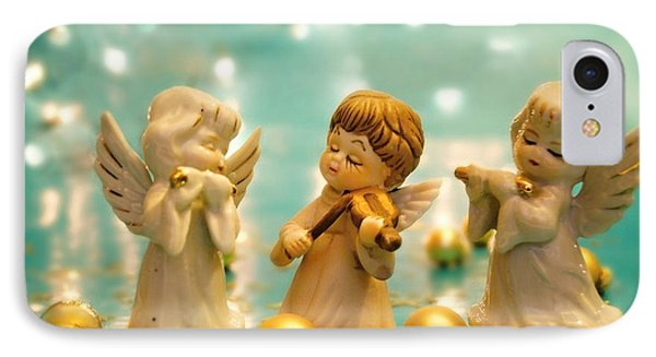 Christmas Angels 3 IPhone Case