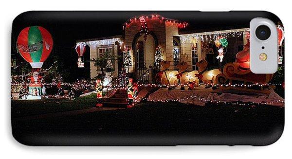 Christmas Baloon IPhone Case by Michael Gordon