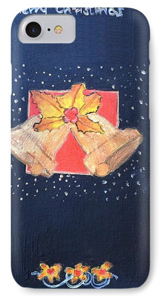 IPhone Case featuring the painting Christmas Bells by Magdalena Frohnsdorff