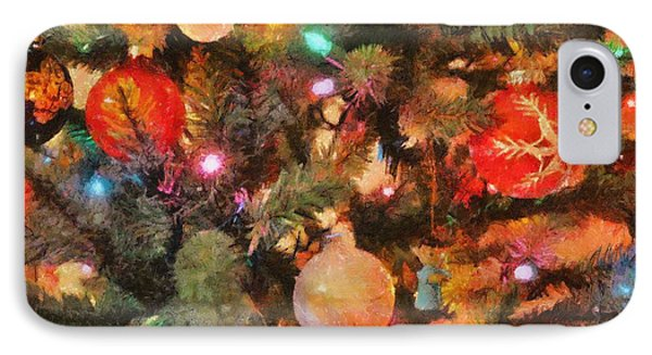 Christmas Branches Phone Case by Jeffrey Kolker