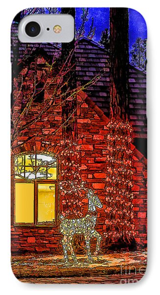 Christmas Card -2014 IPhone Case by Nancy Marie Ricketts