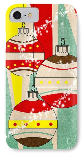 Christmas Card 6 IPhone Case by Mark Ashkenazi
