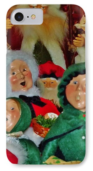 Christmas Card IPhone Case by John Wartman