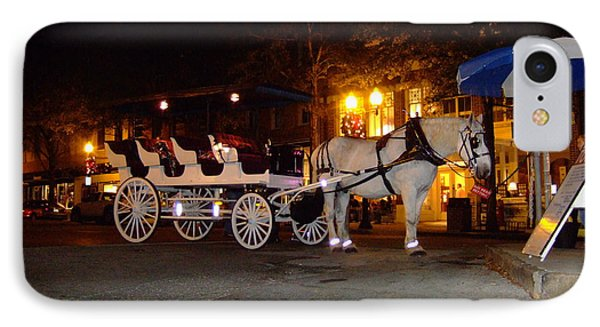 IPhone Case featuring the photograph Christmas Carriage by Bob Sample