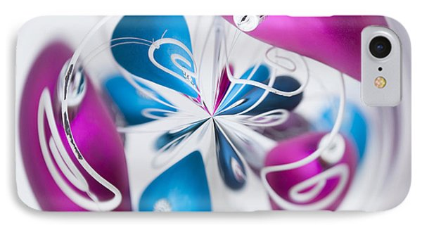Christmas Chaos Phone Case by Anne Gilbert