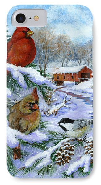Christmas Creek IPhone Case by Richard De Wolfe
