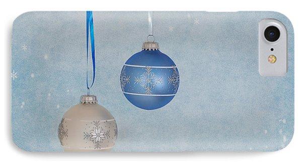 Christmas Elegance Phone Case by Kim Hojnacki
