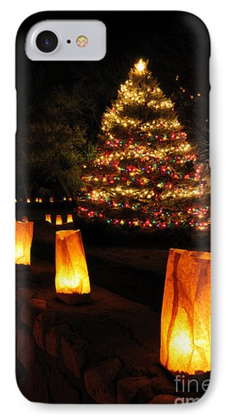 Christmas Eve In Tularosa New Mexico IPhone Case