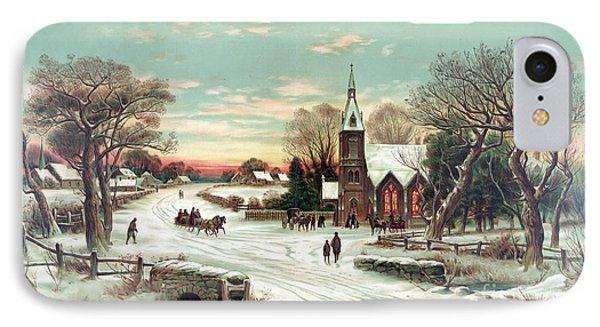 Christmas Eve Mass IPhone Case