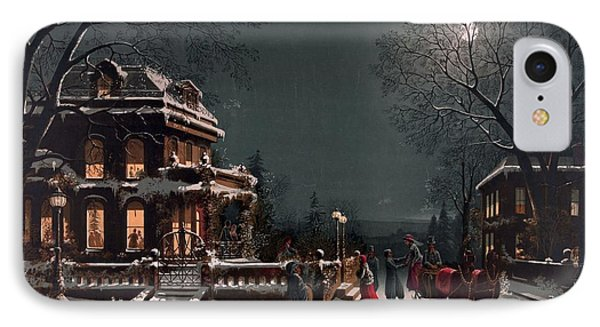 Christmas Eve IPhone Case by Unknown