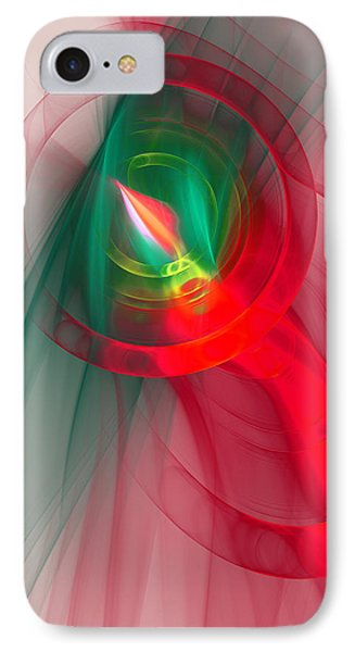 Christmas Flame IPhone Case