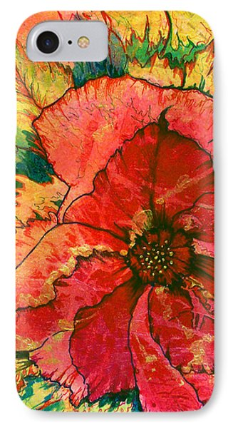 Christmas Flower IPhone Case