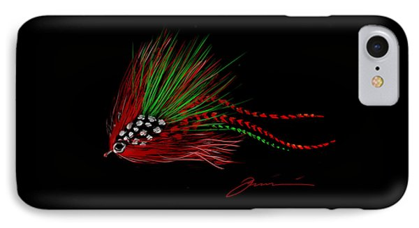 Christmas Fly IPhone Case by Jean Pacheco Ravinski