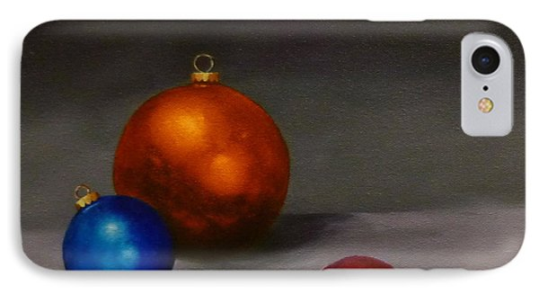 Christmas Glow IPhone Case by Jo Appleby