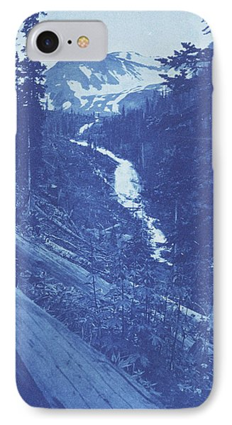 Christmas Greeting, View In Emogen  Creek IPhone Case