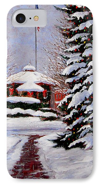 Christmas In Chagrin Falls IPhone Case