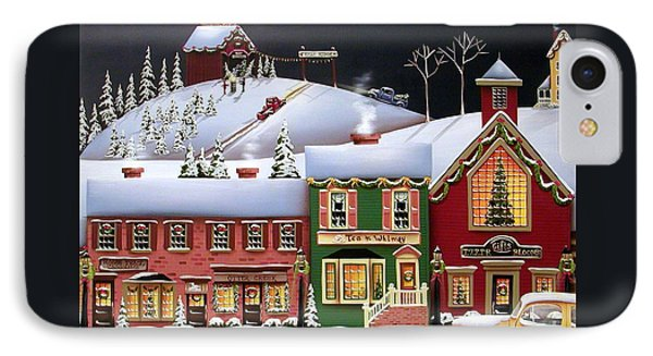 Christmas In Holly Ridge Phone Case by Catherine Holman