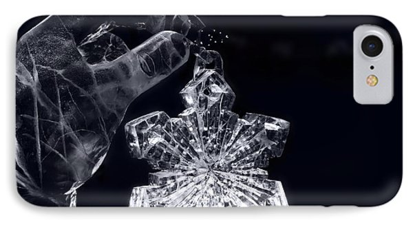 Christmas In Ice Phone Case by Sharon Mau