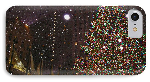 Christmas In New York City IPhone Case