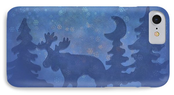 Christmas In The Forest IPhone Case by Dan Sproul