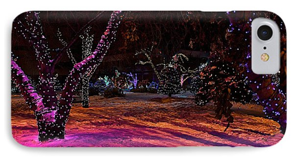 Christmas In The Park IPhone Case
