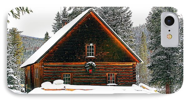 Christmas In The Rockies Phone Case by Steven Reed