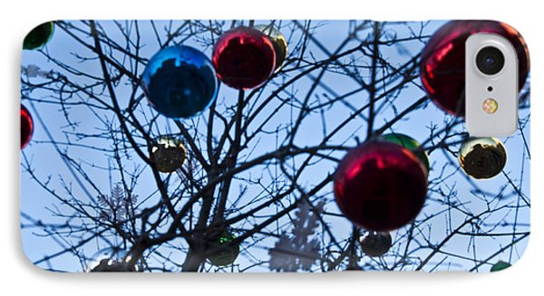 Christmas Is Looking Up This Year Phone Case by Bill Cannon