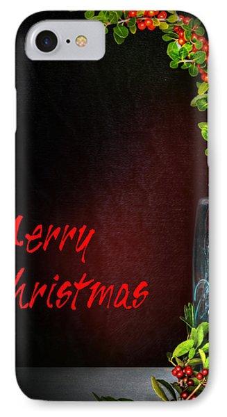 Christmas Jar IPhone Case by David and Carol Kelly