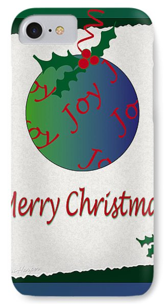 IPhone Case featuring the photograph Christmas Joy by Terri Harper