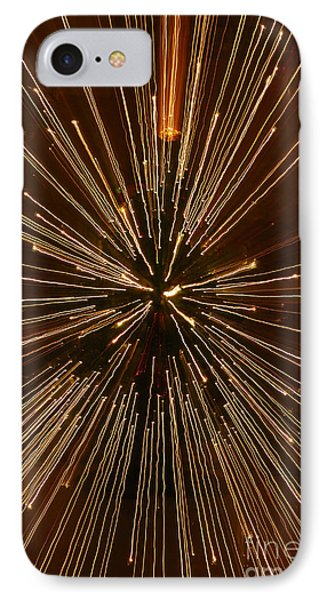 Christmas Lights IPhone Case by Birgit Tyrrell