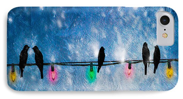 Christmas Lights IPhone Case by Bob Orsillo