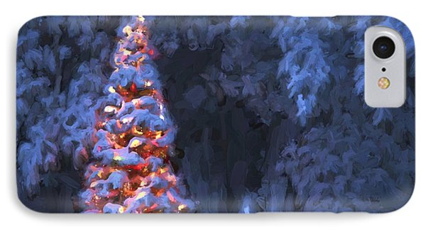 Christmas Lights IPhone Case by Clare VanderVeen
