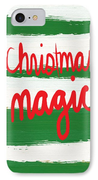 Christmas Magic - Greeting Card IPhone Case by Linda Woods