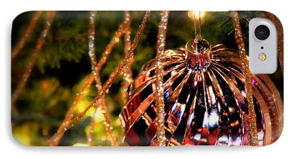 Christmas Magic Phone Case by Karen Wiles