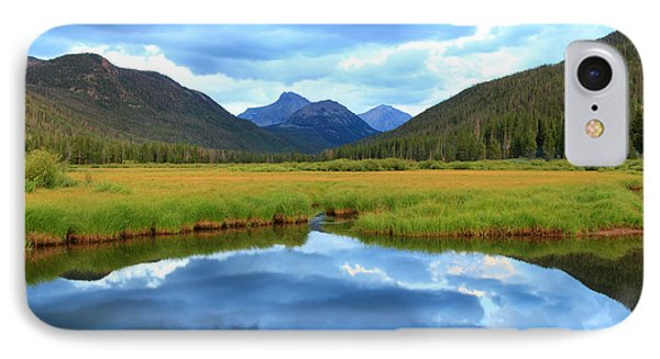 Christmas Meadows In The Uinta Mountains. IPhone Case by Johnny Adolphson