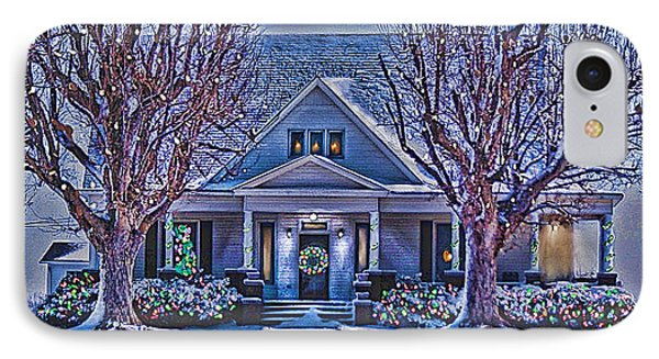 Christmas Memories IPhone Case by Bonnie Willis