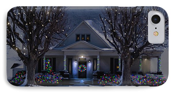 Christmas Memories2 IPhone Case by Bonnie Willis