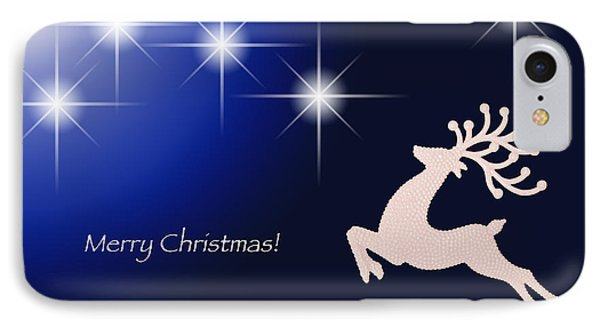 Christmas Night IPhone Case by Simona Ghidini