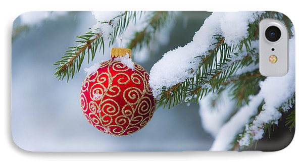 Christmas Ornament Phone Case by Diane Diederich
