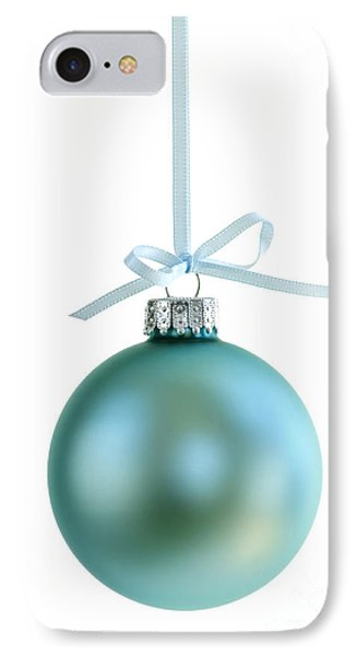 Christmas Ornament On White IPhone Case