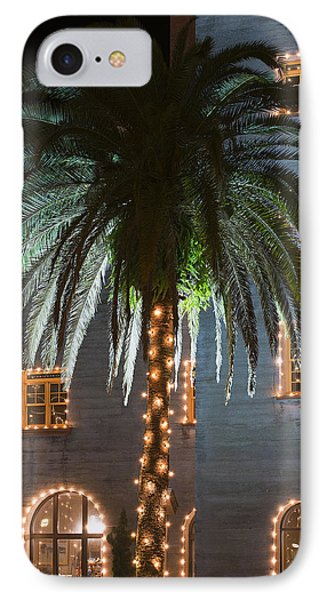 Christmas Palm Phone Case by Kenneth Albin